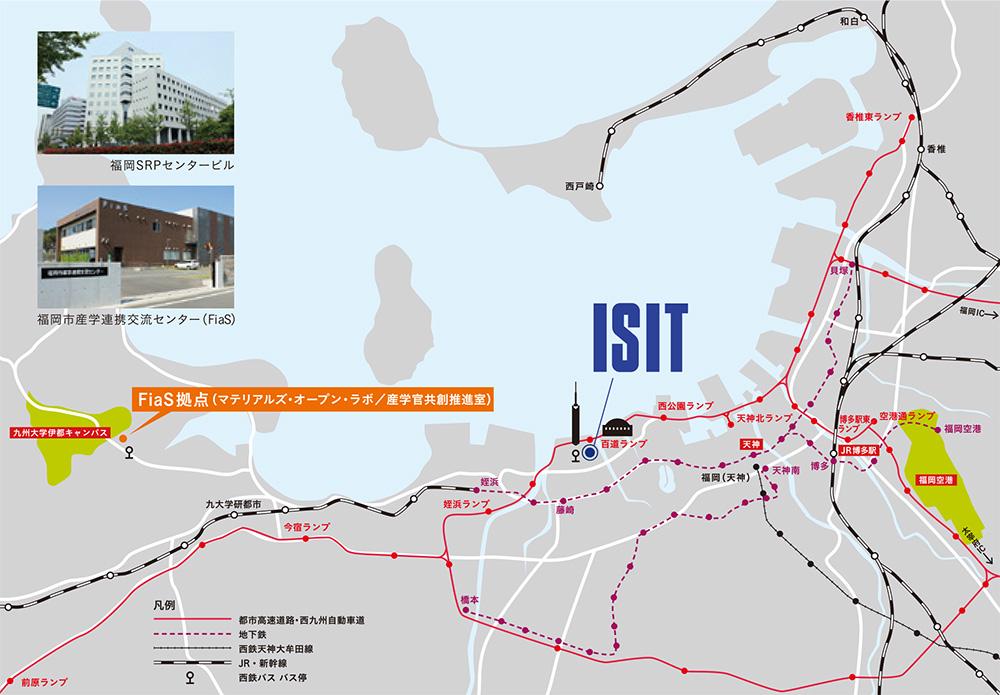 ISIT地図